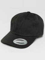 Flexfit Snapback Caps Low Profile Cotton Twill Kids čern