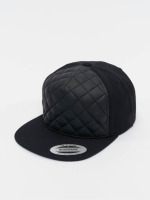 Flexfit Snapback Caps Diamond Quilted czarny