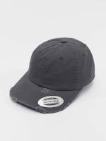 Flexfit Snapback Caps Low Profile Destroyed harmaa