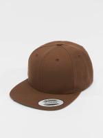 Flexfit Snapback Caps Classic hnědý
