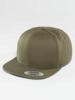 Flexfit Snapback Caps Classic oliwkowy