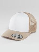 Flexfit Trucker Caps Retro Colored Front béžový