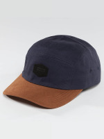Globe 5 Panel Caps Staple синий