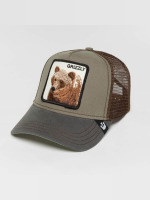 Goorin Bros. trucker cap Grizz olijfgroen