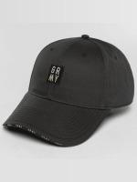 Grimey Wear Snapback Cap Ashe schwarz