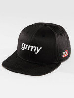 Grimey Wear Snapback Caps The Lucy Pearl musta