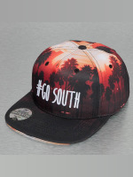 Just Rhyse snapback cap Go South zwart
