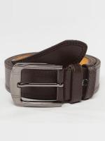 Kaiser Jewelry riem Leather bruin