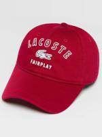 Lacoste Snapback Cap Classic rot