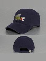 Lacoste Snapback Caps Logo blå