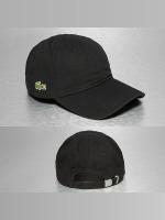 Lacoste Snapback Caps Gabardine Croc Strapback Cap czarny