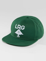 LRG Snapback Caps Research Group vihreä