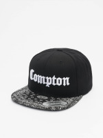 Mister Tee Snapback Cap Compton Bandana nero