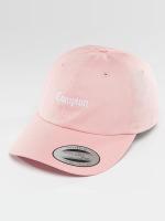 Mister Tee Snapback Cap Compton pink