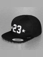 Mister Tee Snapback Cap Legend 23 schwarz