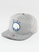 Mitchell & Ness Casquette Snapback & Strapback NBA Cracked Goldenstate Warriors gris