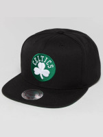 Mitchell & Ness Casquette Snapback & Strapback Wool Solid NBA Boston Celtics noir