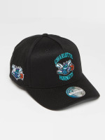 Mitchell & Ness Casquette Snapback & Strapback NBA HWC Eazy 110 Curved Charlotte Hornets noir