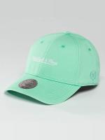 Mitchell & Ness Gorra Snapback Pastel 2-Tone Logo verde