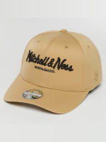 Mitchell & Ness Snapback Cap The Sand And Black 2-Tone Pinscript beige