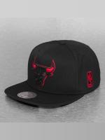 Mitchell & Ness Snapback Cap Solid Teams Siren Chicago Bulls black