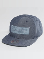 Mitchell & Ness snapback cap Italian Washed blauw