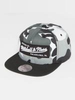 Mitchell & Ness snapback cap Box Logo camouflage