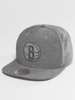 Mitchell & Ness Snapback Cap NBA Italian Washed Brooklyn Nets grau