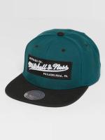 Mitchell & Ness Snapback Cap Own Brand Box Logo grün