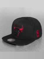 Mitchell & Ness Snapback Cap Solid Teams Siren Chicago Bulls nero