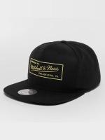 Mitchell & Ness Snapback Cap Raised Perimeter Own schwarz
