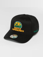 Mitchell & Ness snapback cap NBA HWC Eazy 110 Curved Seattle Supersonics zwart
