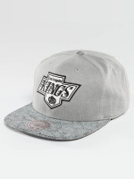 Mitchell & Ness Snapback Caps NHL Cracked LA Kings šedá