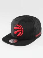 Mitchell & Ness Snapback Caps NBA Black Ripstop Honeycomb Toronto Raptors musta