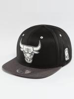 Mitchell & Ness Snapback Caps NBA 2-Tone Logo Chicago Bulls svart