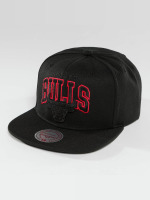 Mitchell & Ness Snapback Caps Red Pop Chicago Bulls svart