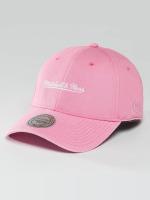 Mitchell & Ness Snapback Caps Pastel 2-Tone Logo vaaleanpunainen