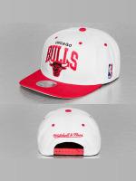 Mitchell & Ness Snapback Caps Chicago Bulls valkoinen