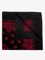MSTRDS Bandana Red Lines negro