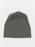MSTRDS Beanie Heather Jersey grau