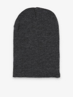 MSTRDS Beanie Basic Flap Long grijs