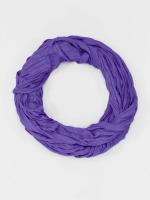 MSTRDS Sjal/Duk Wrinkle Loop lila