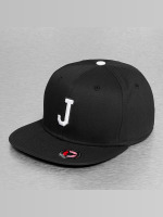 MSTRDS Snapback Caps J Letter czarny
