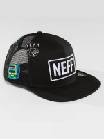 NEFF Trucker Cap Atoms schwarz