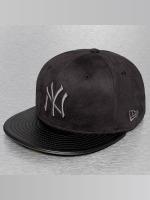 New Era Baseballkeps Faux NY Yankees svart
