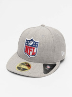 New Era Casquette Fitted League Logo NFL Generic Logo 59Fifty gris