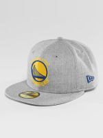 New Era Casquette Fitted NBA Golden State Warriors Heather Fitted gris