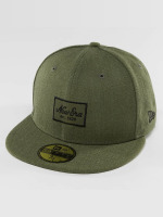 New Era Casquette Fitted Heather Script 59Fifty olive