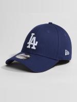 New Era Casquette Flex Fitted Washed Team Colour LA Dodgers bleu