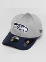 New Era Casquette Flex Fitted Seattle Seahawks gris
